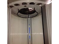 Luxura Delux stand up sunbed. Commercial sunbed