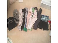 Two bundles of boys clothes 9-12 months and 12-18 months