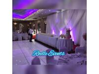 Wedding /Event decoration package deal for 0-100 £395