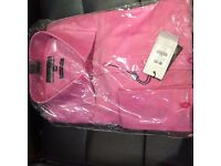 New Austin Reid Mens Shirt (Pink Size 17)