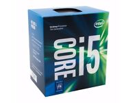 Brand New Intel Core i5-7500 3.40 GHz Base Frequency Quad Core 6 MB Cache CPU Processor - Black