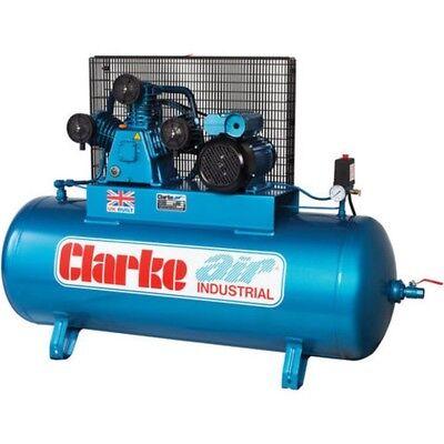 Clarke 200L 4HP compressor 18cfm compressor 200L compressor. XET19 compressor.