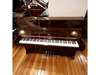 Steinbach Upright Piano Mahogany Upright Piano By Sherwood Phoenix Pianos
