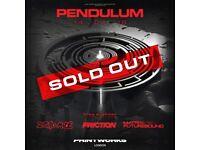 1x Pendulum Ticket **TONIGHT**