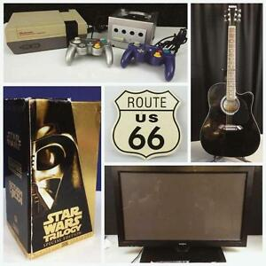 ONLINE AUCTION ENDS TUESDAY NIGHT! Man Cave Essentials,Video Games,Sports Cards,Records,Electronics AND MORE!