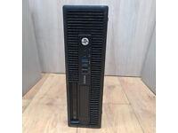 HP Elitesdesk 705 G1 SFF AMD A8 Pro 7600B R7 10 COMPUTE @3.1GHz 4GB Ram 128GB SSD
