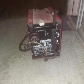 Magnum welding machine