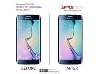 Samsung Galaxy S6 edge S7 edge S8 S8 Plus Screen Glass Repair