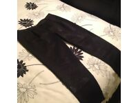 Whistles Women's brand new Trousers Size 14. Sparkly black effect. Never been worn.