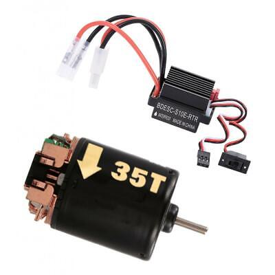540 Brushed Electric Motor 35T 60A Brushed ESC Combo for Axi