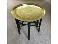 Antique Indian Brass Table