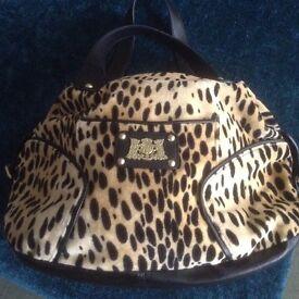 NEW - Juicy Couture Leopard Print Ladies Handbag.