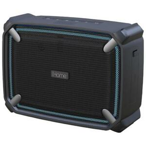 iHome IBT372BGC Waterproof Bluetooth Speaker / Accent Lighting (New other)