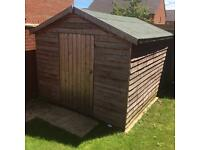 Large 8x10 Garden Shed