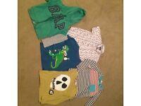 Boys top bundle, Boden, Gap age 4-5 & 5-6 years