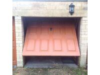 Garage Door Oak Effect