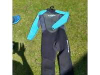 Childs Gforce wetsuit used approx 10yrs