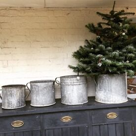 Lovely Zinc Tubs for sale