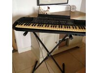 electric keyboard and stand Technics SX-KN701