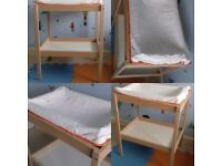 Ikea Sniglar Changing Table plus mat and cover (as new)