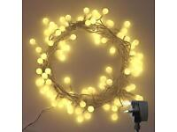 New! Koopower 100 Led Globe Ball Fairy Lights W/ Remote And Low Power/ Energy Class A