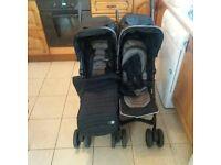 mamas and papas twin buggy