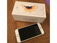 iPhone 6s 64GB unlocked gold immaculate condition