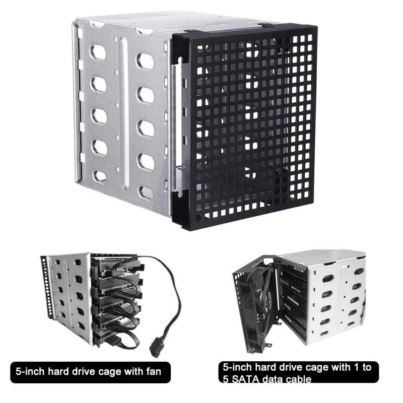Hard Drive Caddy Cage Rack 5.25