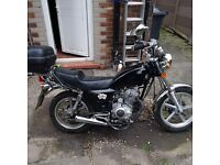 Huaniao HN 125-8 125cc with extras