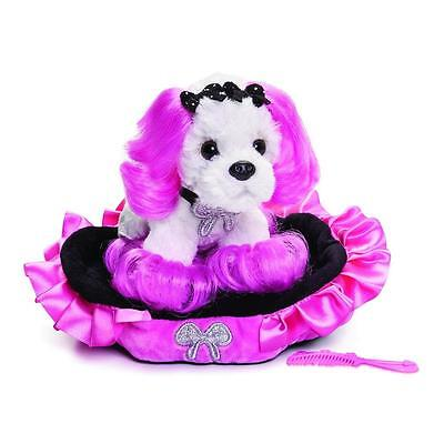 Princess of Beverly Hills Plush and Bed Set- Cute 90210 Dog - Comb Included!