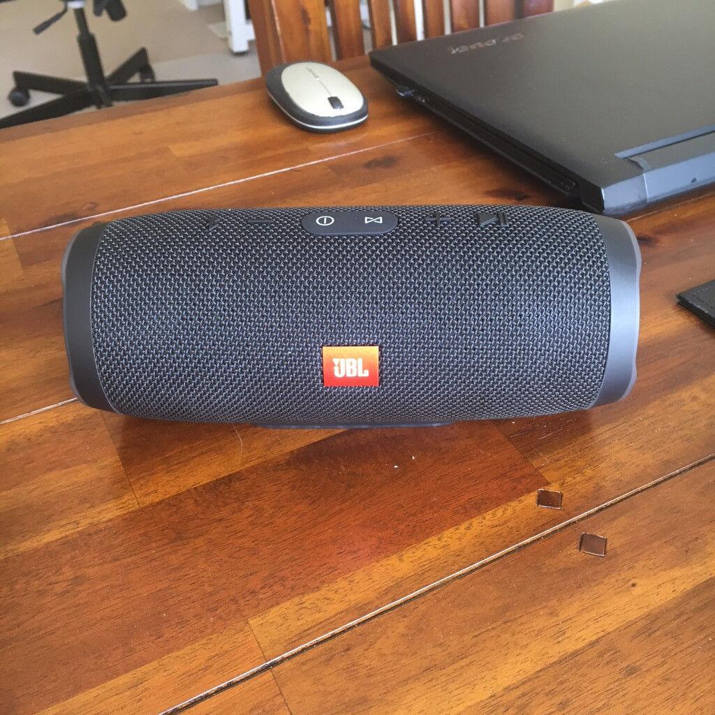 JBL Charge 3 Portable Bluetooth Waterproof Speaker - Black Final Reduction!!
