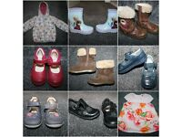 Girls shoes boots sandals uk 5 - 6 coat dress 1 - 2 y CAN POST