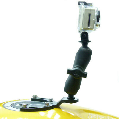 RAM Motorcycle Encourage Tank Camera Mount for GoPro Hero