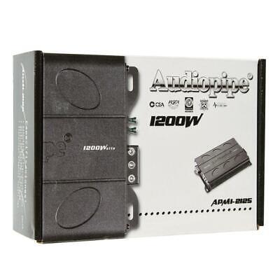 Audiopipe APMI-2125 Car Amplifier - 406 W RMS - 1200 W PMPO