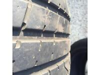 Pair of Pirellis tyres 285/40 20s