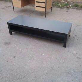Dark brown coffee table/ tv unit