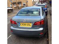 lexus ls ,diseal,08 plate 5 door with 10month mot and11month tax