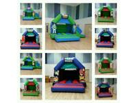 Bouncy castle HIRE slides Adult castles Indoor all sizes