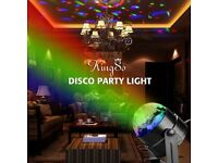 Mini RGB LED Crystal Magic Ball Stage Effect Lighting
