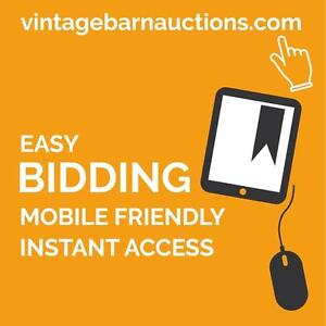 ONLINE AUCTIONS 3 Times Every Week - Easy Bidding! $2 Starting Bids! Shipping Options! Consign Your Quality Goods!
