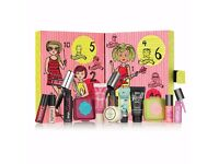 LIMITED EDITION Benefit GIRL O'CLOCK ROCK Exclusive ADVENT CALENDAR 2016 12Minis