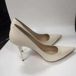 "Jimmy Choo ""Abel"" Ivory Patent Pump- Bridal Collection- size 8 Perfect Condition-50% off!"