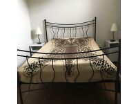 Iron Arts WROUGHT IRON KING SIZE BED