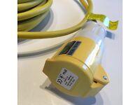 110v (16AMP) Transformer/Power Tool Extension Lead (New)