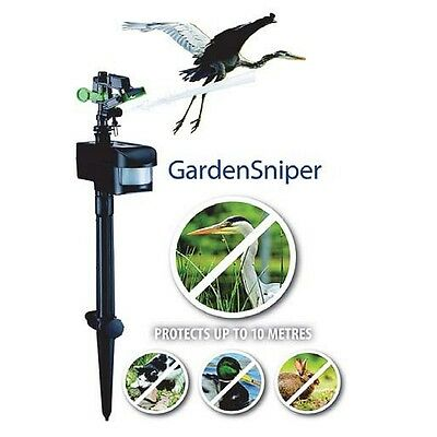 AquaForte Reiherschreck GardenSniper, Reiher Vogelschreck HuKaRe Katzenschreck