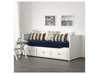 Ikea Hemnes day bed and two Malfors mattresses