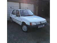 1989 Peugeot 205 1.4 GR
