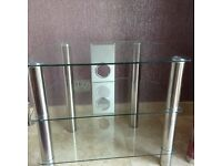 Glass Hi Fi Stand