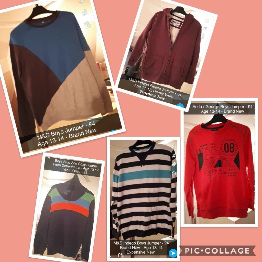 Boys Jumpers (Age 11 - 14)