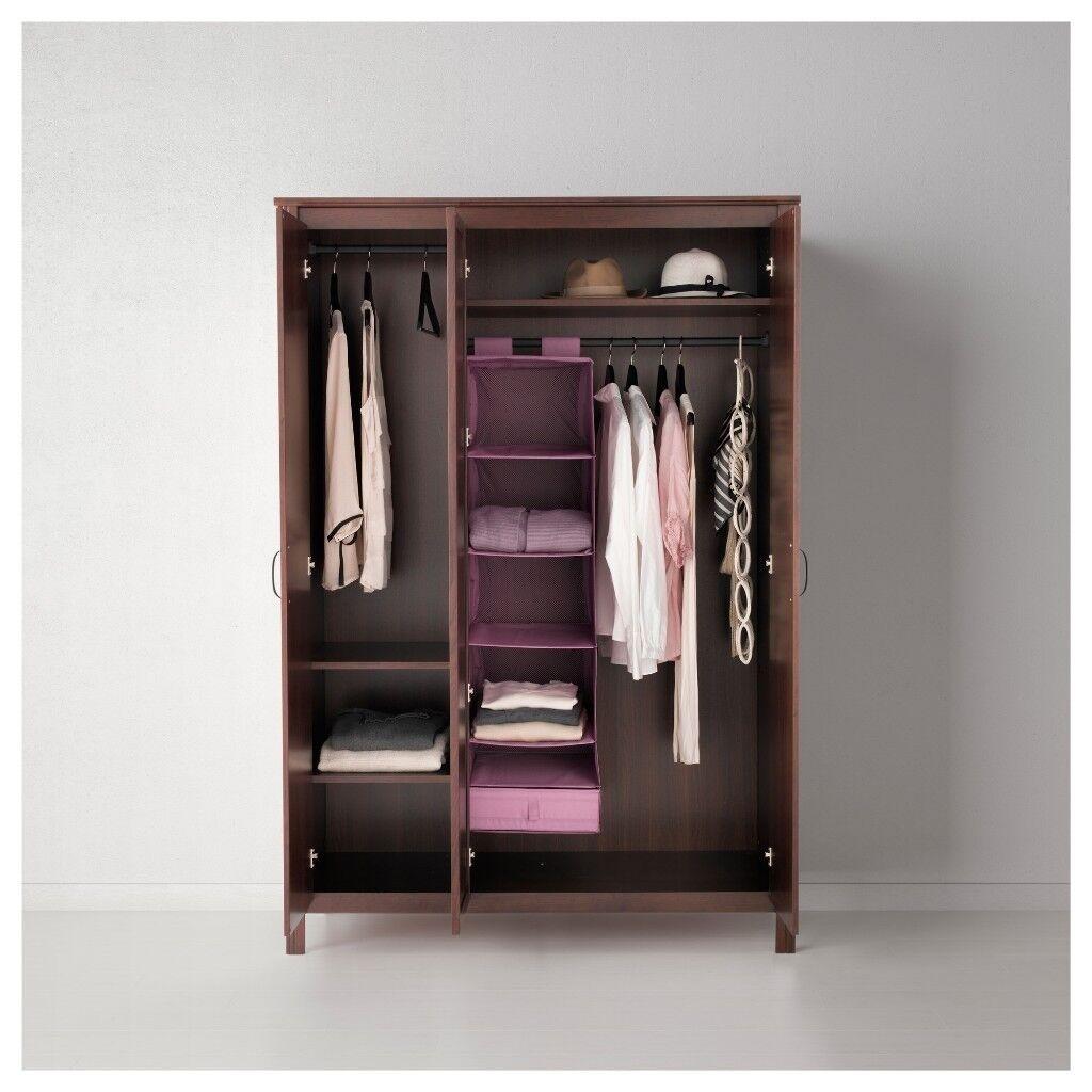 Ikea 'Brusali' Wardrobe